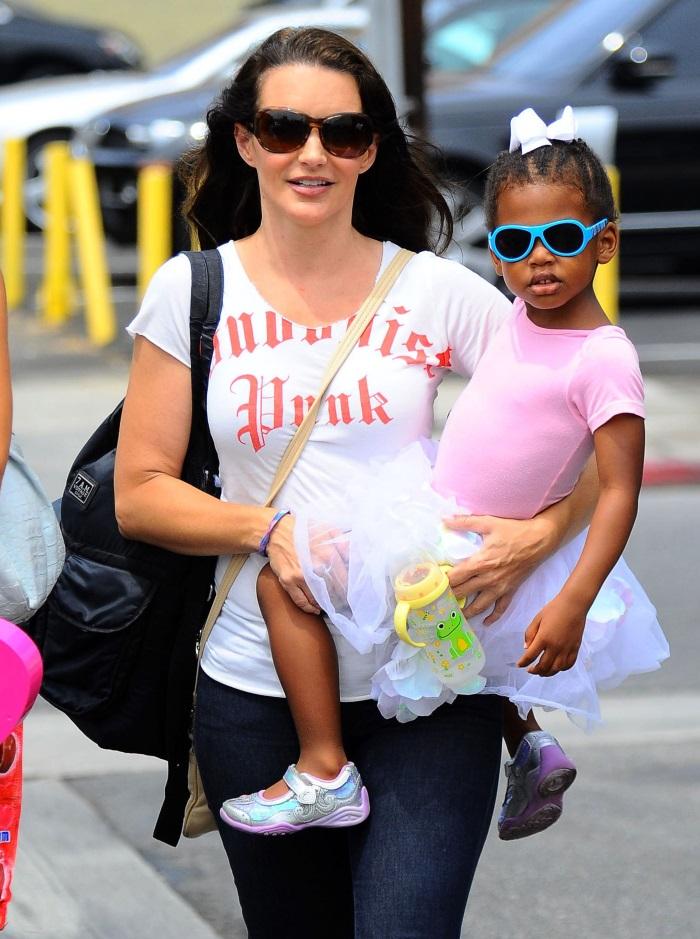 Kristin Davis si fetita sa adoptata, Gemma Rose