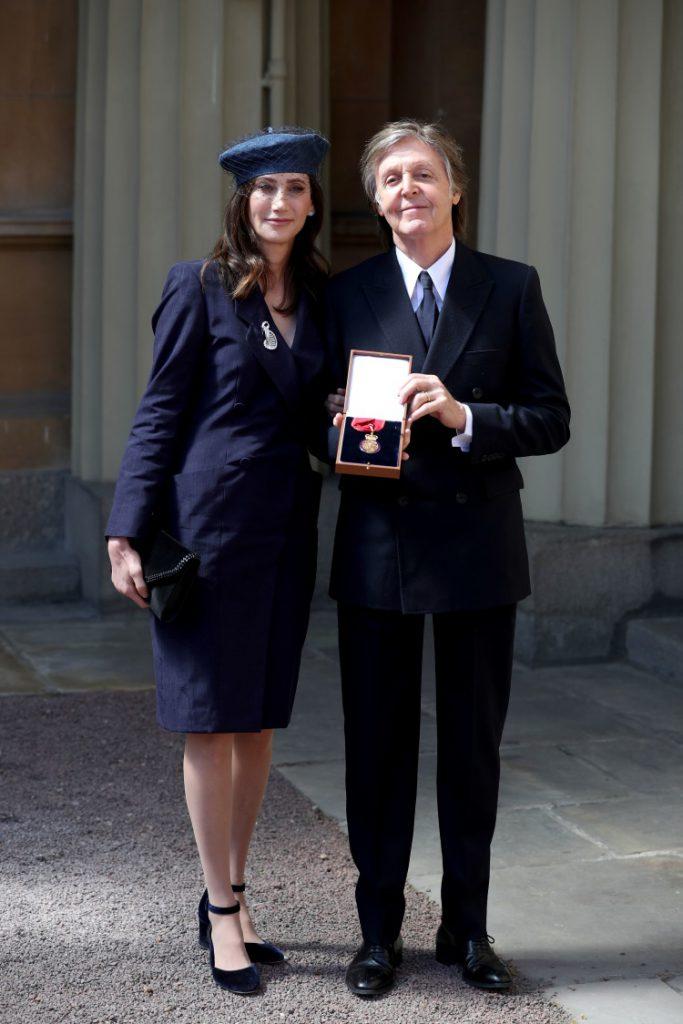 Paul McCartney si Nancy Shevell