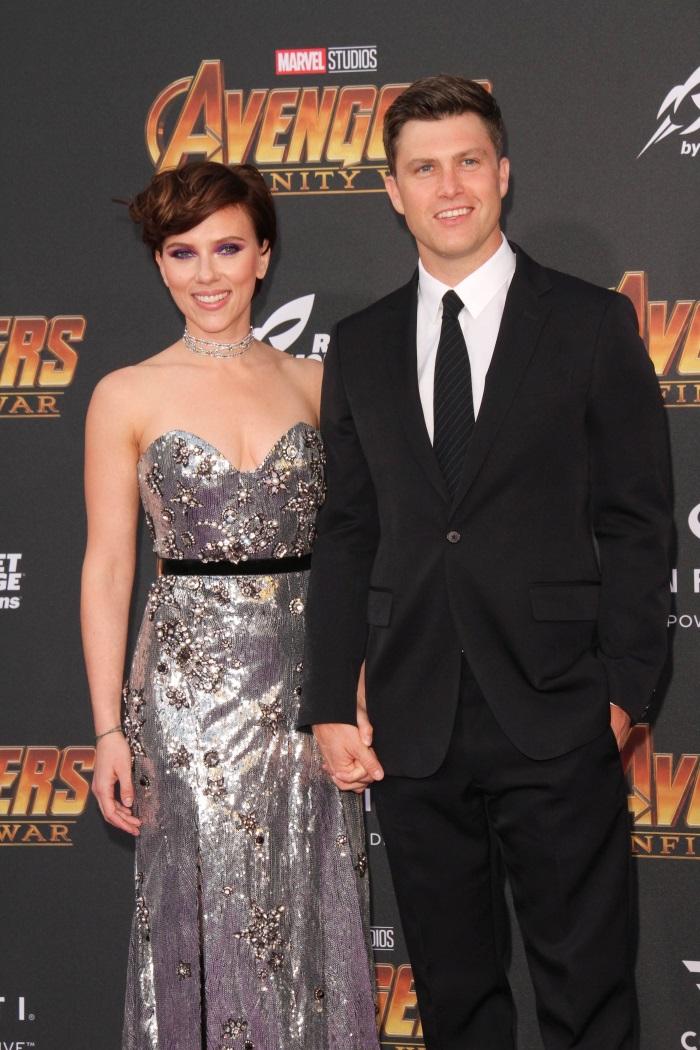 Scarlett Johansson si iubitul sau, Colin Jost