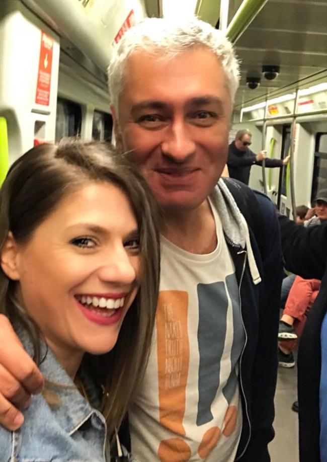 Tily Niculae si Dragos Popescu, sotul sau