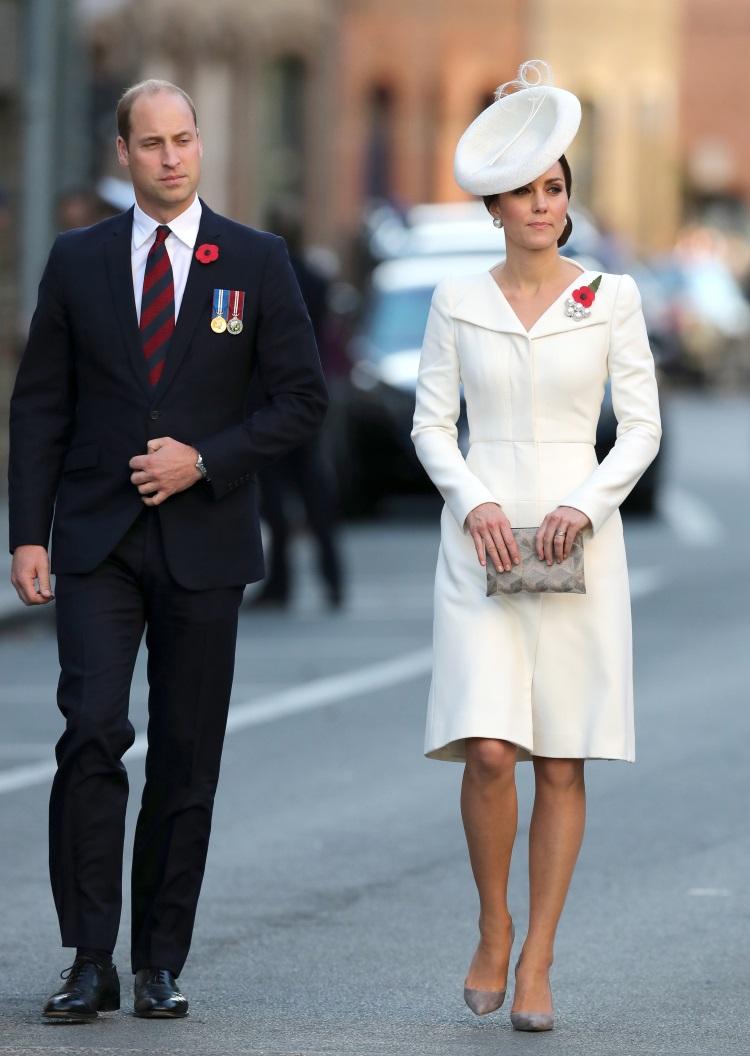 Nunta regală: Kate Middleton a purtat aceeași rochie ca la alte trei evenimente publice FOTO