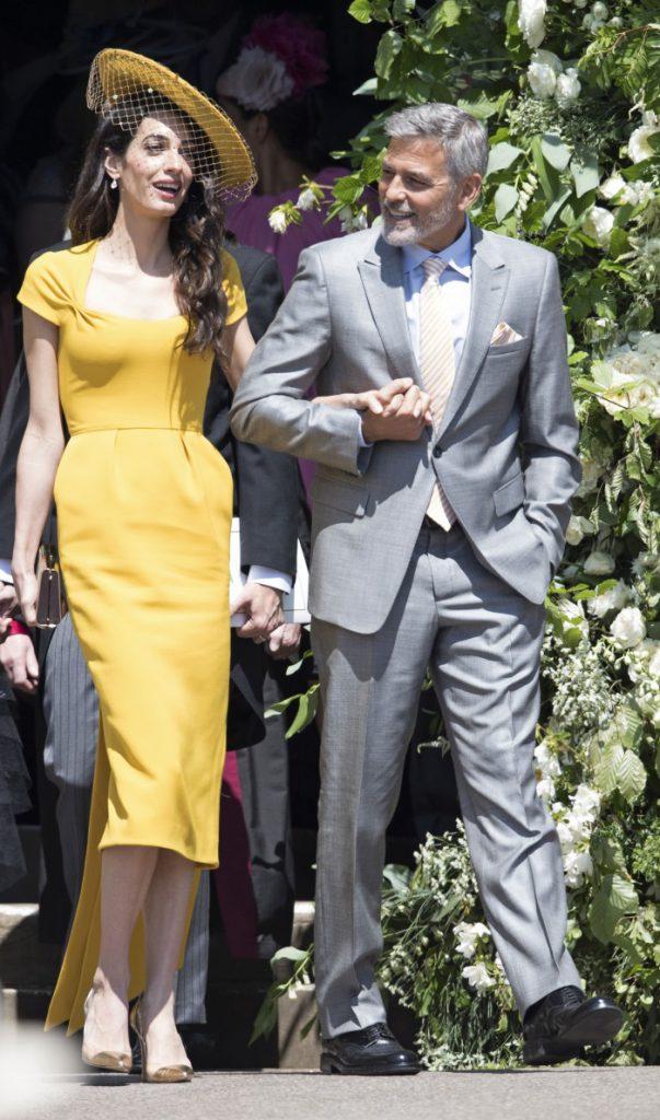 Amal si George clooney la nunta regala