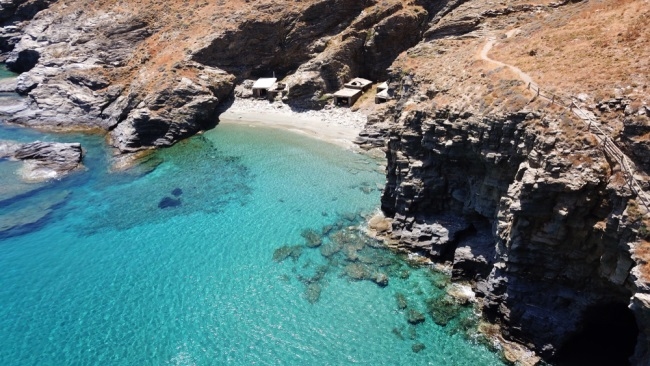 Grias Pidima, Andros, Greece1