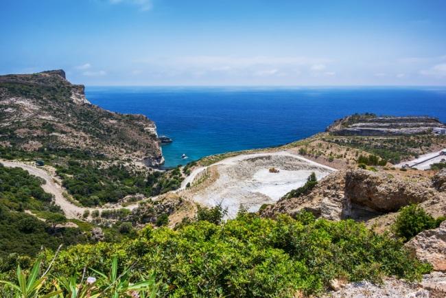 Kleftiko on Milos Island, Milos, Greece