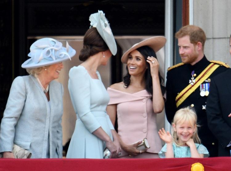 Meghan Markle: prima apariție la balconul regal. Ocazia a fost una specială