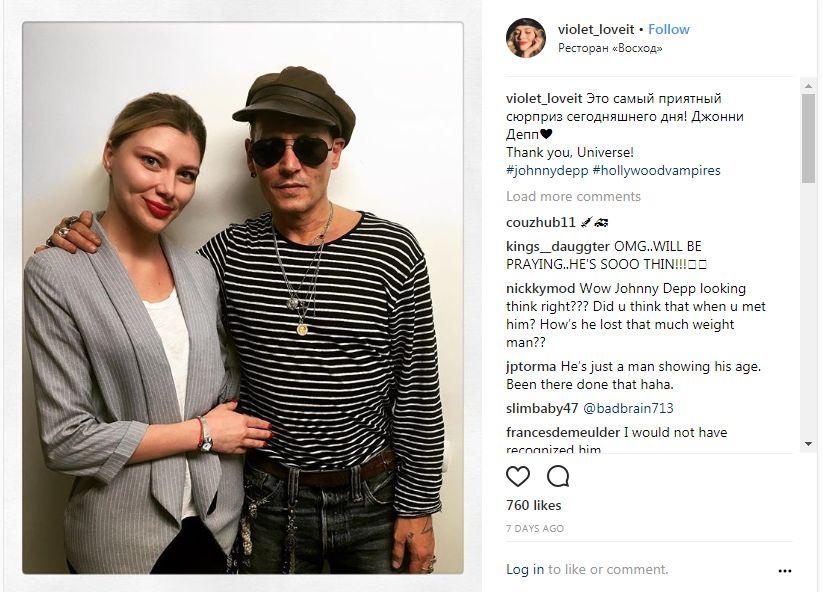 Johnny Depp, de nerecunoscut! Imaginile care au pus internetul pe jar