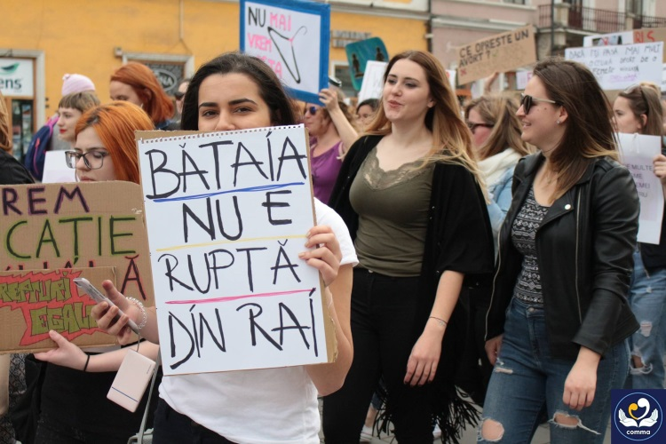 Marșul femeiii Cluj
