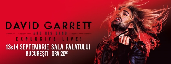 """EXCLUSIV David Garrett: """"Atunci când ești muzician trebuie să fii demn și integru orice ai alege să faci"""""""