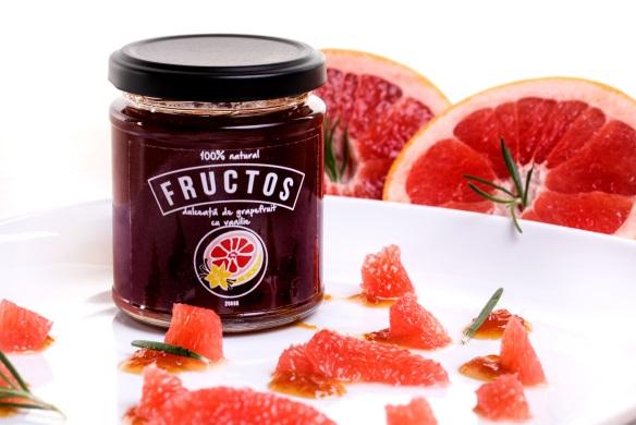 Dulceata de Grapefruit Rosu & Vanilie fructos