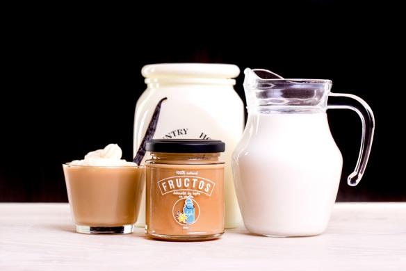 Dulceata de Lapte & Vanilie fructos