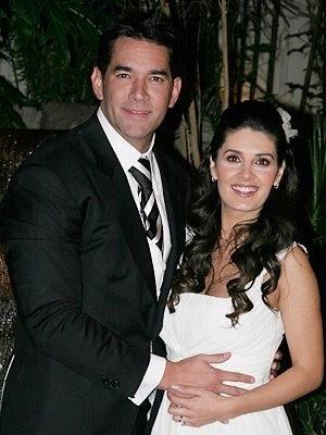 Mayrin Villanueva și Eduardo Santamarina nunta