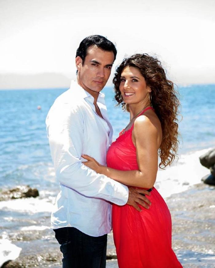 Mayrin Villanueva si David Zepeda in telenovela Viata de imprumut