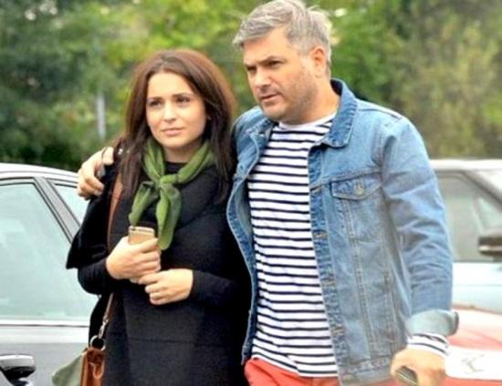 Mircea Radu si sotia sa, Raluca Olaru