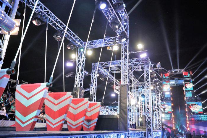 Set-up-ul competițional Ninja Warrior România, construit în doar patru zile. Cum arată impresionantul studio FOTO
