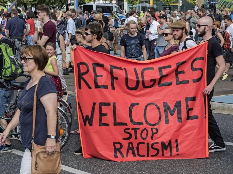 protest migranti