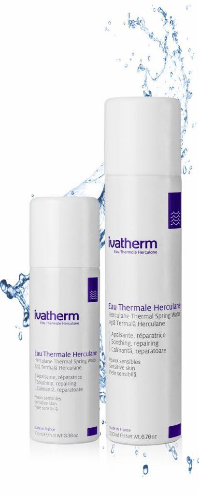 Apa Termală Herculane. Calmează şi decongestionează pielea sensibilă