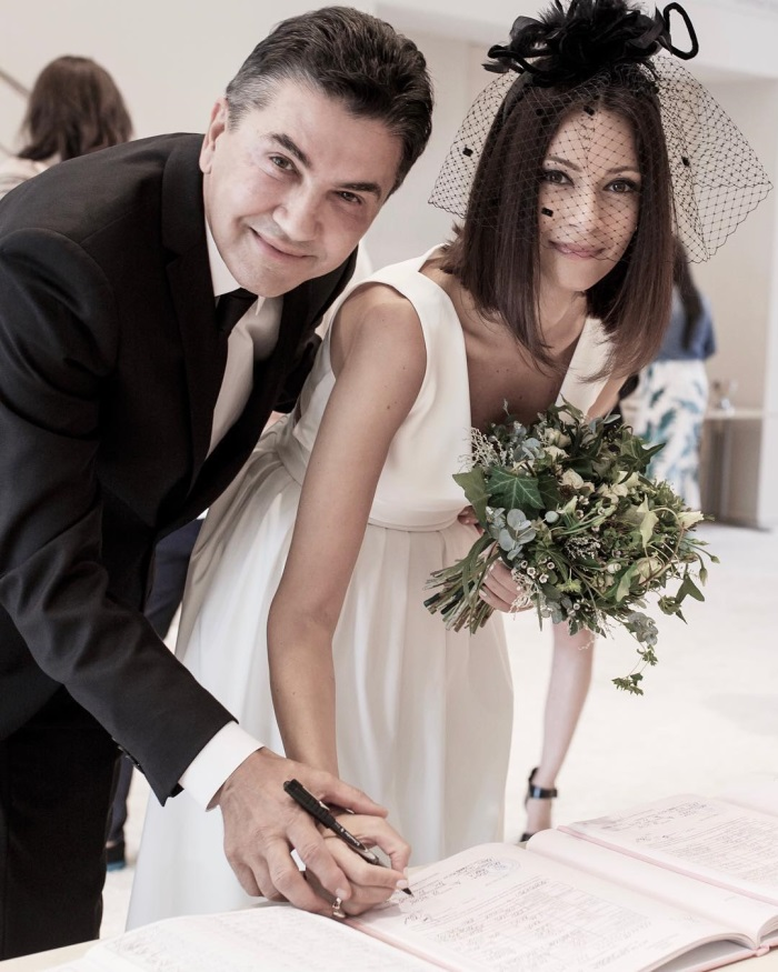 Andreea Berecleanu si sotul sau, Constantin Stan - cununie civila 2