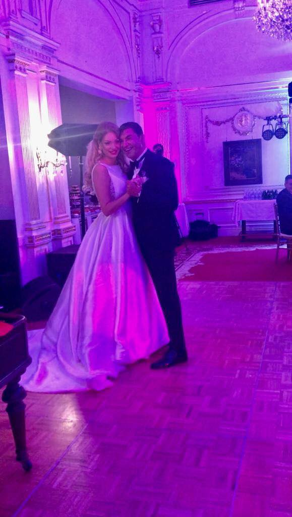 Cristi Borcea si Valentina Pelinel nunta