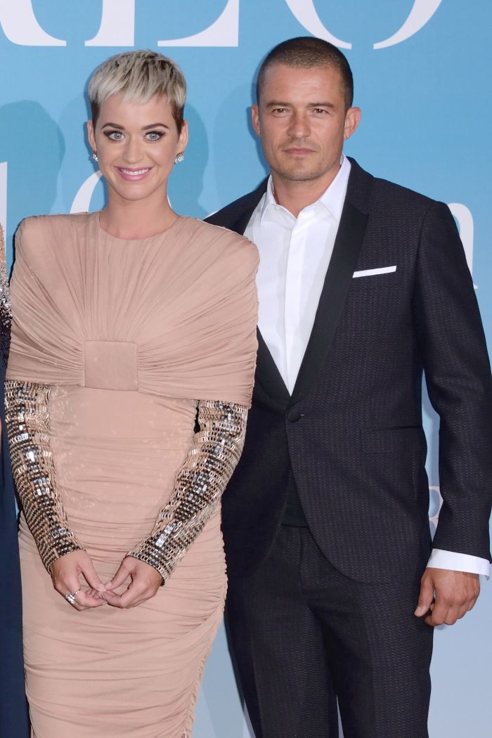 Katy Perry și Orlando Bloom, apariție neobișnuită pe covorul roșu