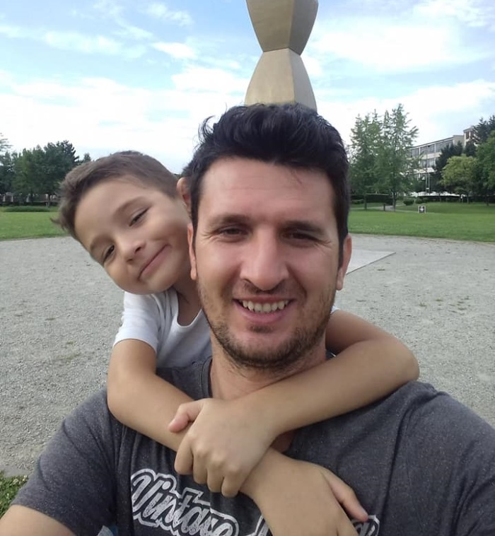 Daniel Balasa - a murit fiul sau