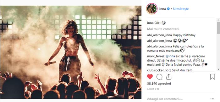 Pagina Innei de Instagram