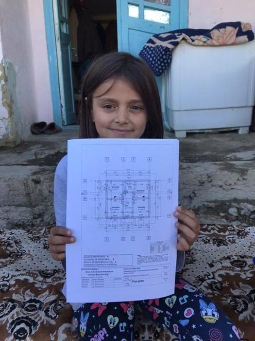 Planul casei pentru Roxana