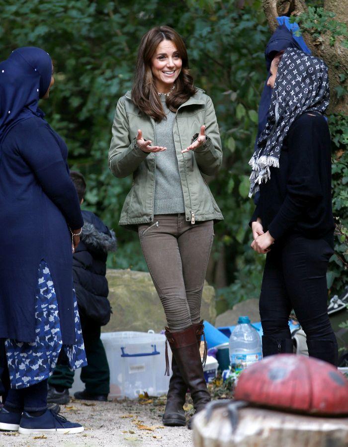 Kate Middleton refolosește hainele de dinainte de a rămâne însărcinată