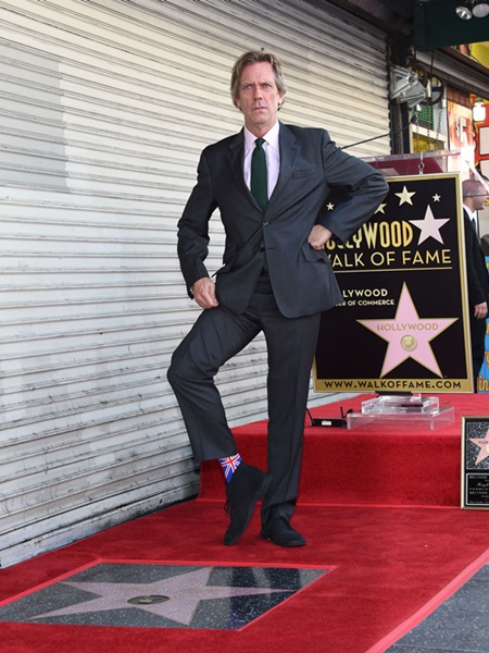Hugh Laurie, Walk of Fame