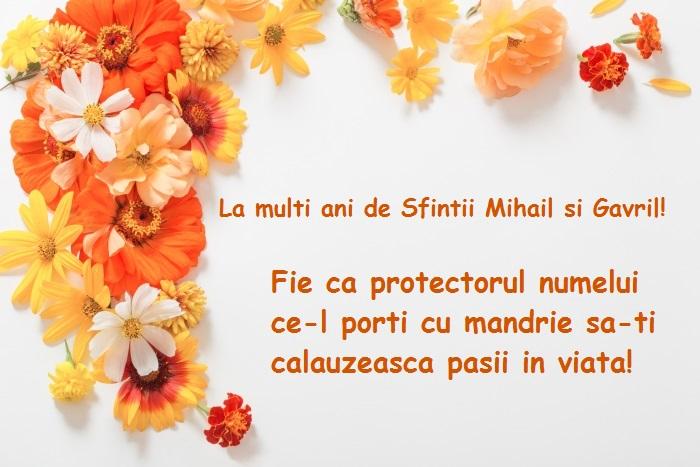 Mesaje cu imagini de Sfintii Mihail si Gavriil