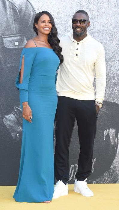 Sabrina Dhowre si Idris Elba