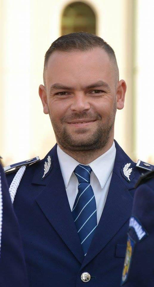 Sebastian Drimbe, politistul din Bihor