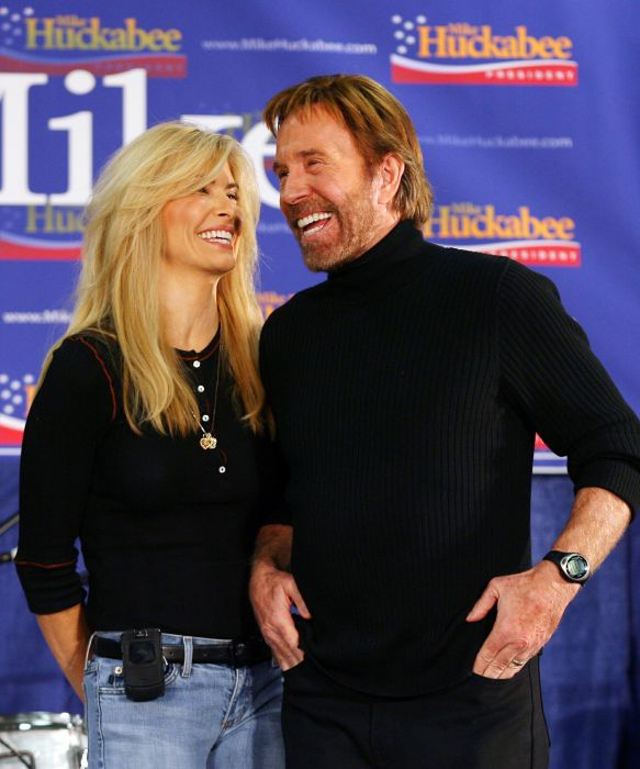 Cum arată soția lui Chuck Norris, femeia care i-a dăruit doi copii