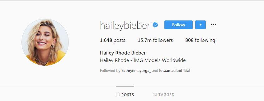 Hailey Baldwin și-a schimbat numele în Hailey Bieber