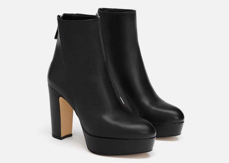 pantofi de Black Friday 2018 - botine Zara