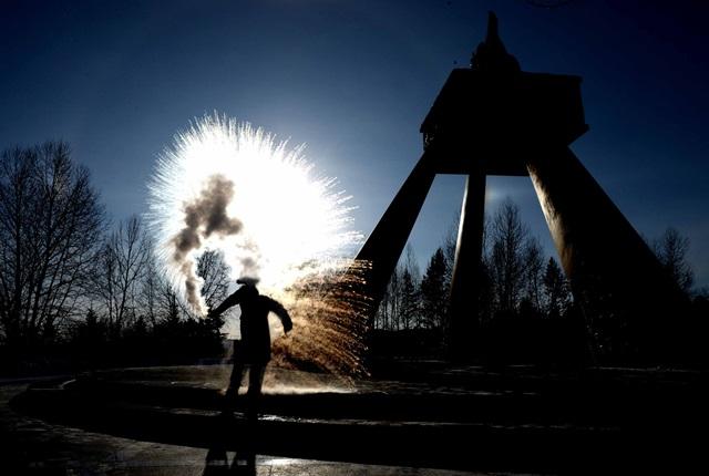 Gestul localnicilor din China, unde temperaturile au ajuns la minus 43 de grade
