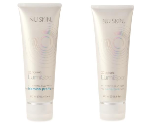 O îngrijire excelentă a pielii începe cu Activating Cleansers de la Nu Skin