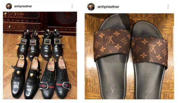 Preot, pedepsit de Patriarh după ce a postat pe internet imagini cu obiecte de firmă