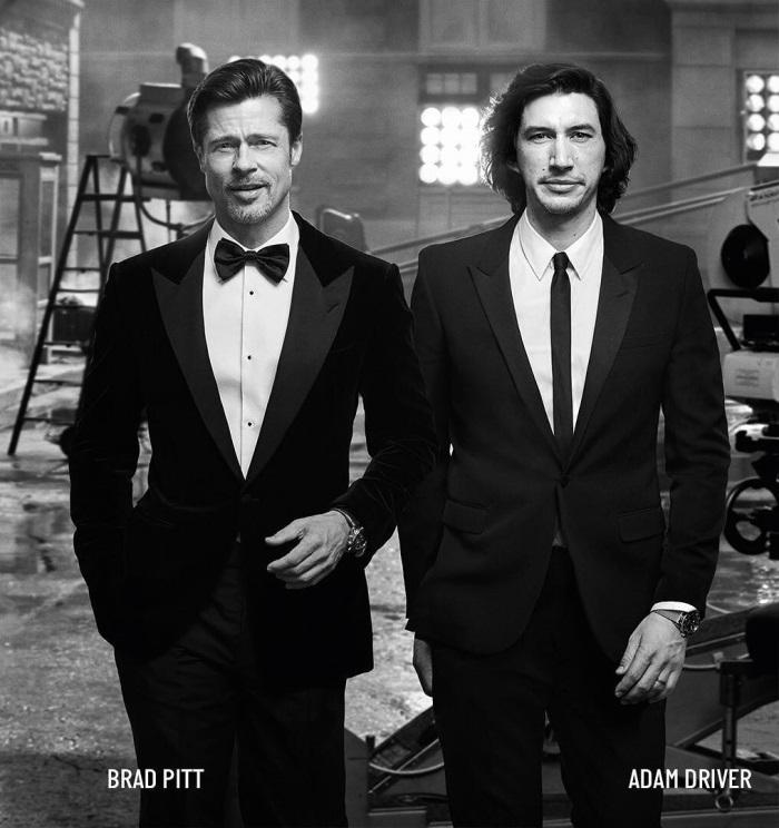 Brad Pitt si Adam Driver