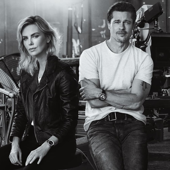 Brad Pitt si Charlize Theron