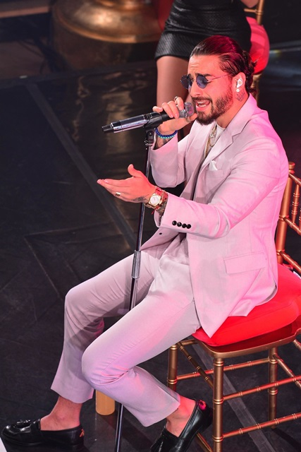 Maluma in concert