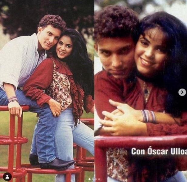 Shakira la 17 ani si iubitul sau