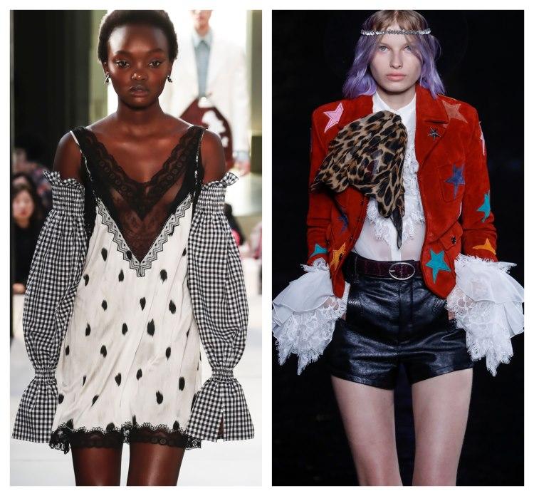 moda 2019. detalii dantela