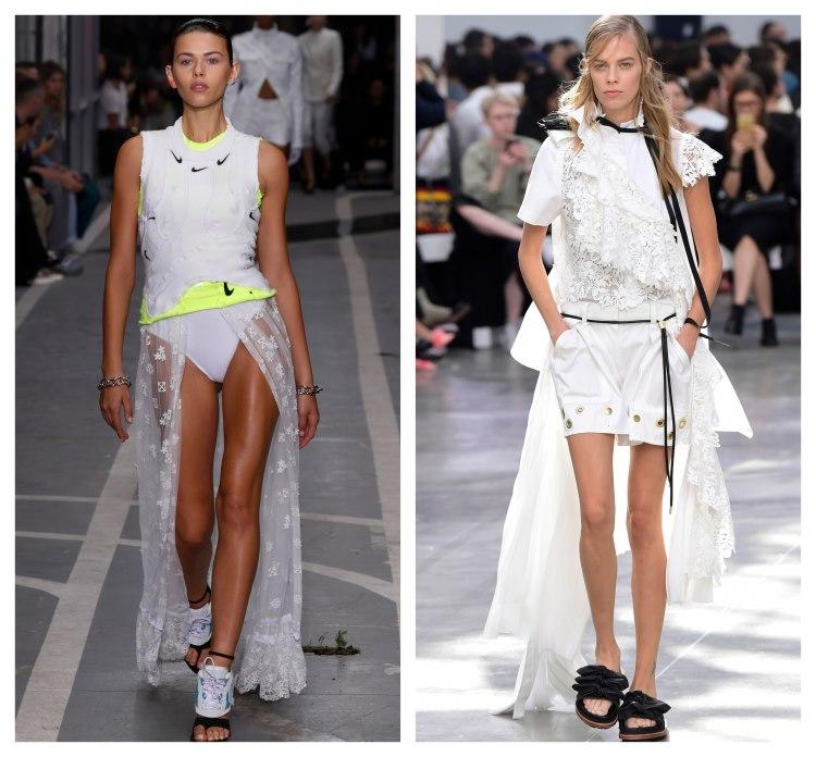 moda 2019. trena dantela