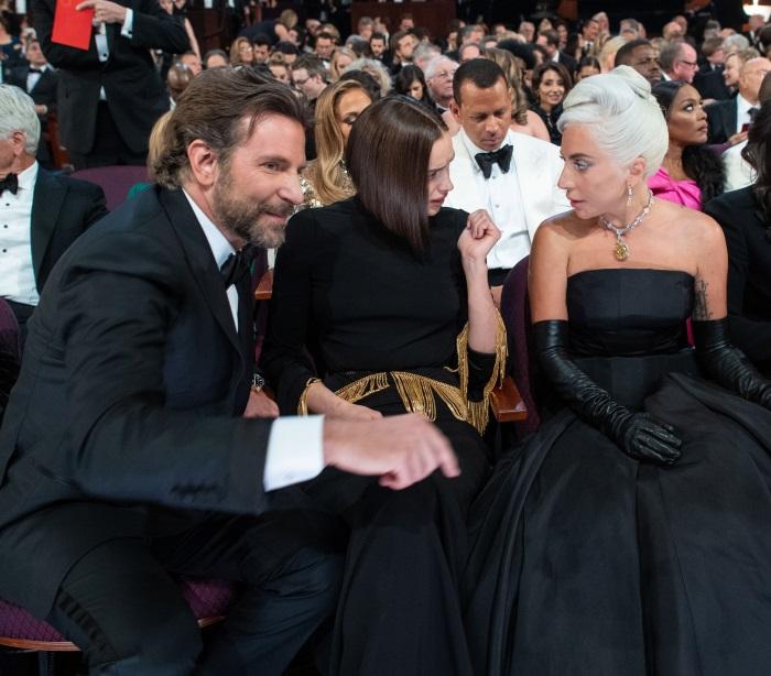 Lady Gaga Bradley Cooper si Irina Shayk Oscar 2019