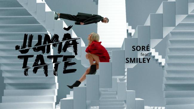 """Smiley și Sore au lansat """"Jumătate"""", o piesă despre plăceri și păcate VIDEO"""