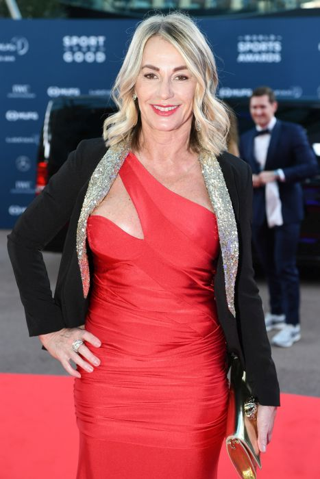 Nadia Comăneci, apariție senzațională pe covorul roșu al Laureus Sports Awards 2019