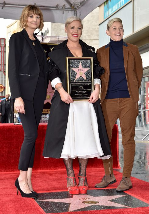 Pink a primit o stea pe Hollywood Walk of Fame