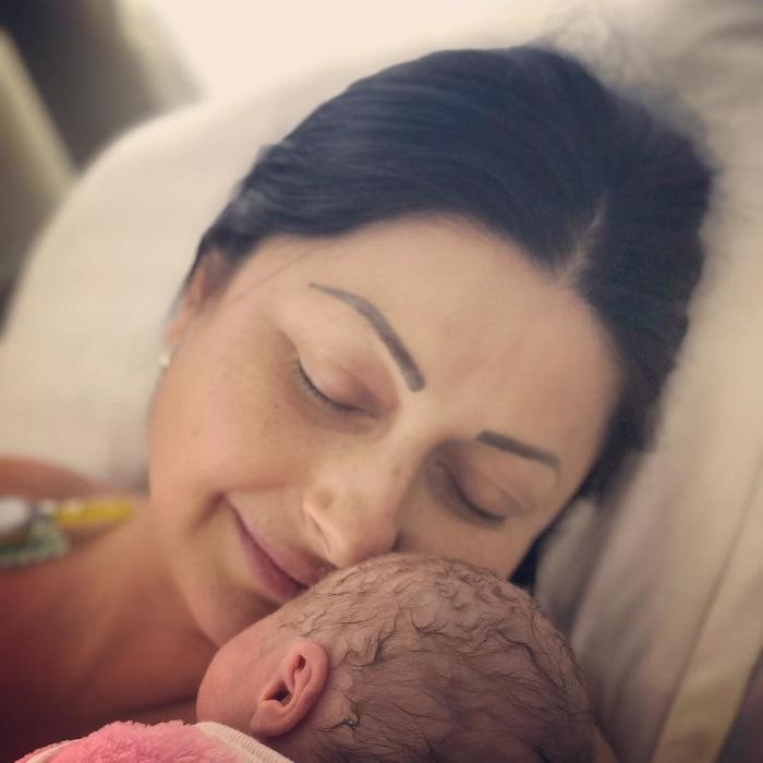 Gabriela Cristea și Tavi Clonda, primele fotografii cu fetița nou-născută