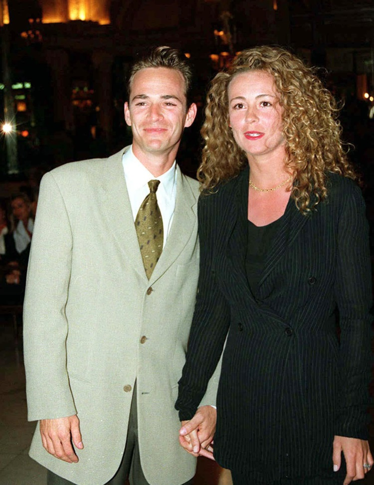 Rachel Minnie Sharp si Luke Perry