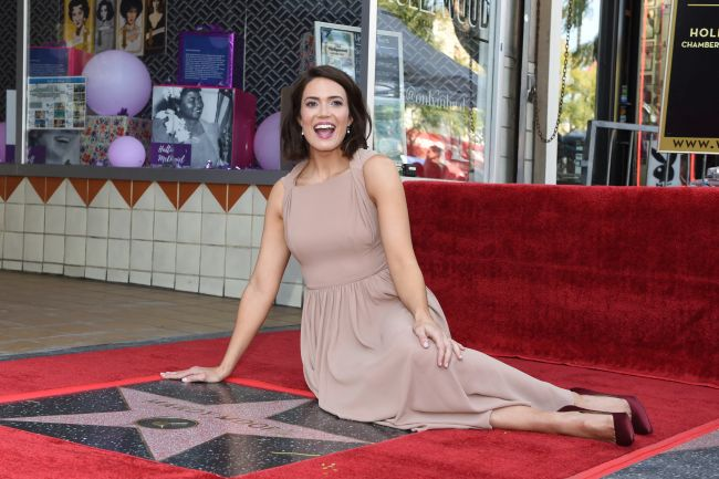 Mandy Moore a primit o stea pe celebrul Hollywood Walk of Fame
